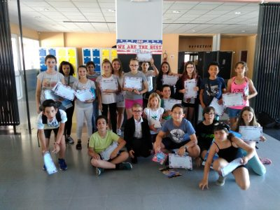 Congratulations to all the students from Collège Cantelauze!
