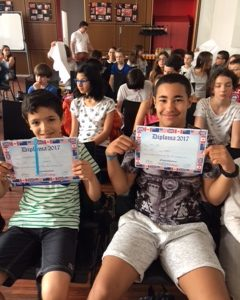 Collège Gambetta (St Etienne) - You are all winners!