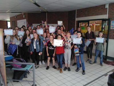 We rock! (Collège Lavoisier d'Auchel dans le Pas de Calais)