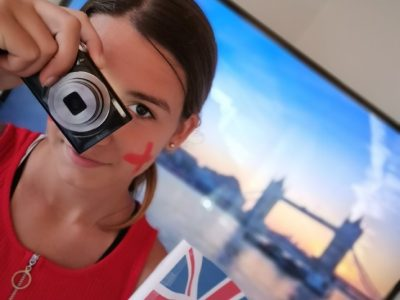 """SAINT GILLES CROIX DE VIE - COLLEGE SAINT GILLES  """"Touriste à Londres"""""""