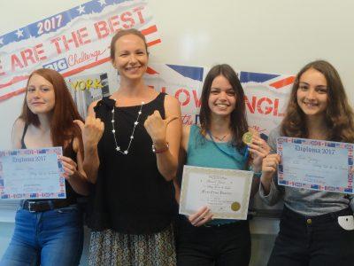 Les 3D du collège Val de la Sensée d'Arleux !! Congratulations girls !! YOU DID GREAT !!