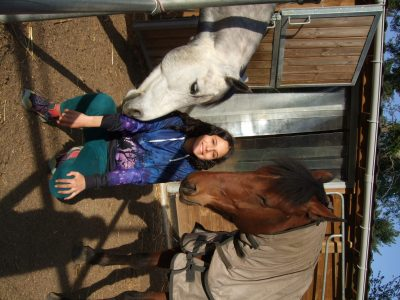 Hi ! I and my two ponys: 