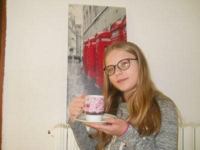 """I live in Bais (53 160 ) .My highschool is """" collège jean louis BERNARD """".   small tea break"""