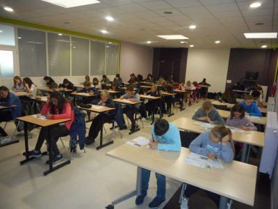 "Collège Etienne Dolet, Provin  They know this a ""Big Challenge"" but they're ready for it !"