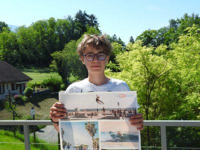 Mathéo GIROUD Alby sur Chéran Collège René Long  Souvenir de mon premier BIG Challenge