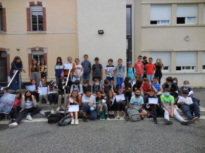 Une participation massive des 6° (Collège ASTARAC-BIGORRE 65220 TRIE-SUR-BAÏSE)