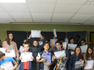 Limoges  Ozanam Collège numérique   We did it!!