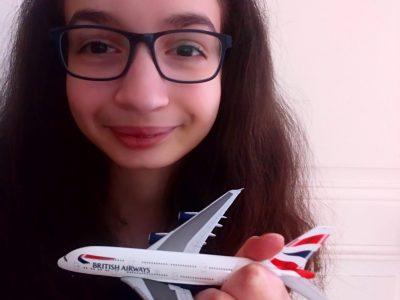 Collège Jean Monnet à Epernay  En vol vers L'Angleterre avec la British Airways !!!
