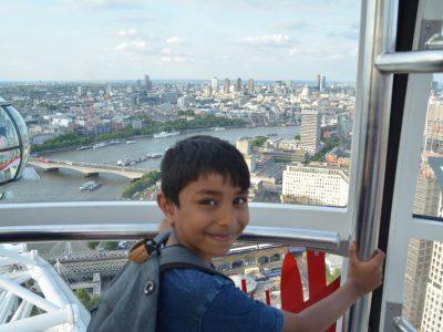 ROISSY EN BRIE  EUGENE DELACROIX: dans la grande roue de LONDRE.