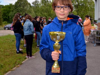 Benjamin Deneufchatel (6°) arrived first at the national level! Congratulations!