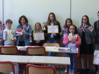 Nous avons procédé à la remise des récompenses officielle, pour les 10 premiers du collège Roger Vercel à Dinan (Cotes d'Armor)