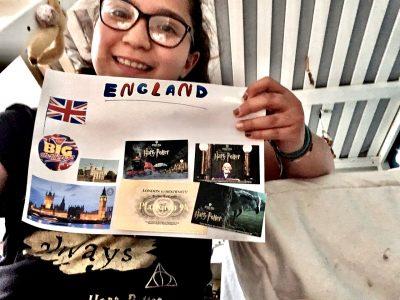Louise  L'Isle Adam  J'ai fait ce collage car je suis allée à Londres et j'ai vu tout ce que j'ai mais sur ce collage voilà.