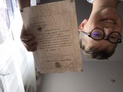 Besançon collège st Joseph  Super j'ai été admis à poudlard (Harry Potter)