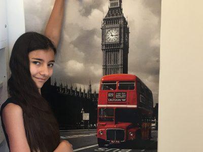 Thiais , collège Paul Valéry   Je suis à Londres même dans ma chambre