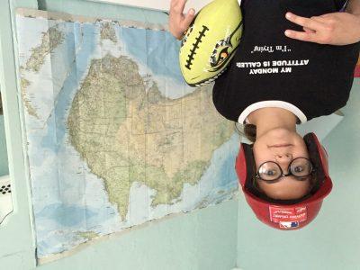 Perpignan, institution St Louis de Gonzague.  Le football américain et le baseball, les meilleurs sport avec l'Australie le meilleur pays !