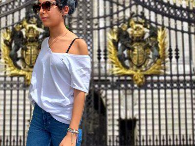 toulouse, louis nicolas vauquelin , Une photo de moi entrain de me promener à Londres ( au buckingham palace )