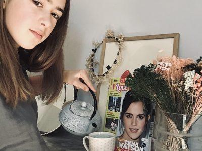 Fontainebleau,collège international  A cup of tea?☕️