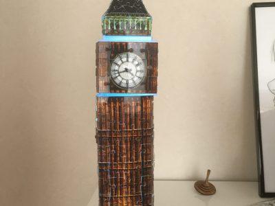 Chevigny-Saint-Sauveur collège Camille Claudel   Voici Big Ben en puzzle 3 D