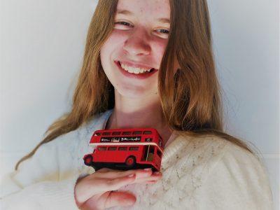 """Emilie Kerreneur Ploudalmézeau collège St Joseph.  """" En route pour le bonheur !"""""""