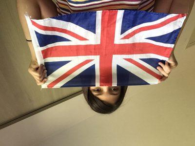 Lons - le - Saunier,  collège Sainte Marie.  J'ai prise cette photo, pour qu' on voit le drapeau du Royaume - Unis...