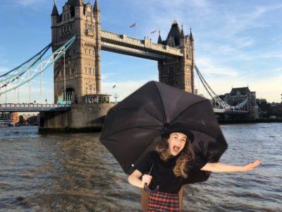 Collège Pablo Picasso à Chalette  sur loing  Un grand coup de vent a emporté Juliette devant le London Bridge !