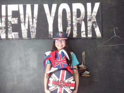 COLLEGE L'ASTREE BOEN SUR LIGNON  Je suis prête à partir à New York!!!