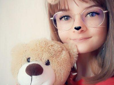 CASSENEUIL COLLEGE SAINT PIERRE   I love my English teddy bear !!!
