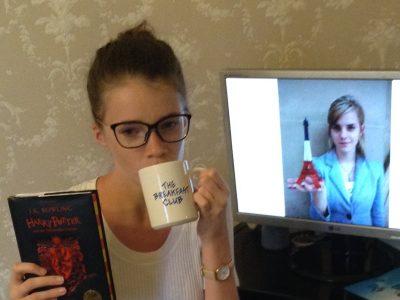 collège saint joseph à voiron zélie virieux  mon livre préféré : harry potter (in english !!!)  ma star : emma watson  et un peu de thé...