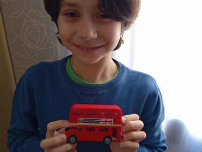 TOULOUSE COLLEGE MONTALEMBERT LES MARISTES  HI THIS IS A BRITISH LEGO BUS!!!