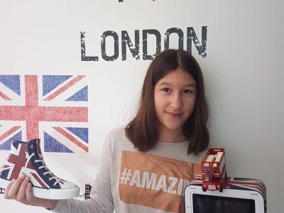 Ville : DIJON  Collège: André Malraux Commentaire : I love London !