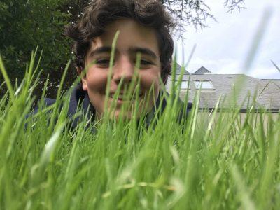 Paris-La Rochefoucauld  The beautiful English grass like the English greens