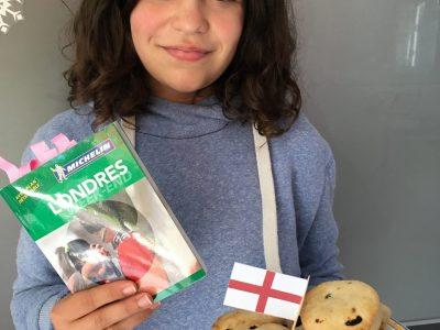 "Collège LAMORICIERE, SAINT PHILBERT DE GRAND LIEU ""Enjoy with these home made scones!"""