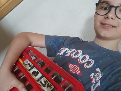 Drusenheim  Collège du Rhin  My LEGO double-decker bus
