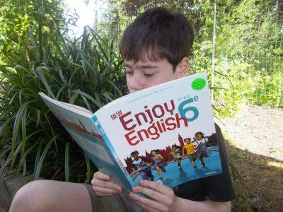 """Wattrelos, Collège Saint-Joseph """"English is good. Learning it is better!"""""""