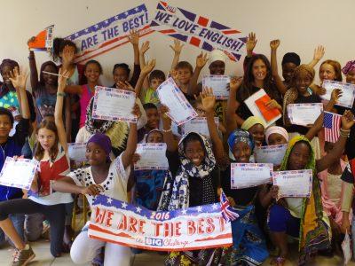 Collège de Tsingoni à Mayotte. 6è . We did it !!
