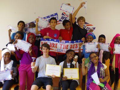 Collège de Tsingoni à Mayotte. 4è ! We are the best !! 2 prix départementaux !!