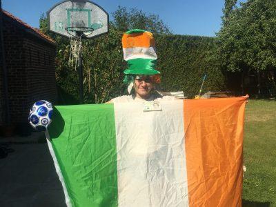 Saint-Saulve, Collège Notre Dame  Long live Ireland!