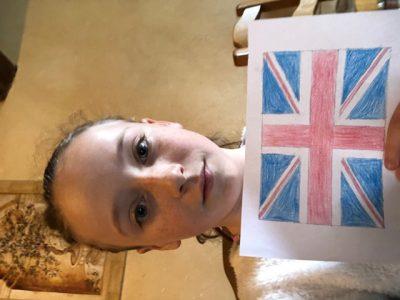 CLUNY Collège Pierre Paul Prud'hon  J'ai dessinée le drapeau l'Angleterre.