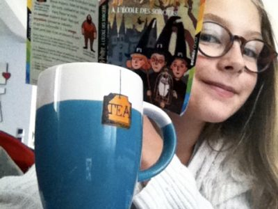 MONTBAZON, collège Saint-Gatien la salle. I love tea and to read Harry Potter's books !