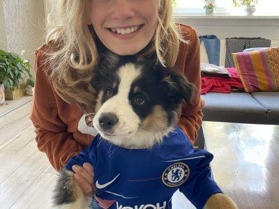 FORBACH: Collège Pierre ADT  ROCKY: Chelsea's football fan!