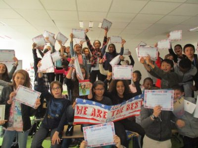 WE ARE THE BEST!  Collège <strong>Cesaria Evora de Montreuil</strong>