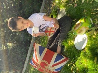 Villemomble Collège Saint Louis Blanche de Castille Tea time in my garden: very good break after TheBigchallenge!