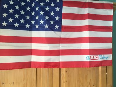 Marquise, Collège SAINT-MARTIN Mon drapeau BIG CHALLENGE installé dans ma chambre