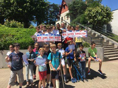 Collège Léonard de Vinci - Tours. Pour leur 1ère participation nos élèves de 6ème sont heureux de leur participation. Rendez-vous l'année prochaine !