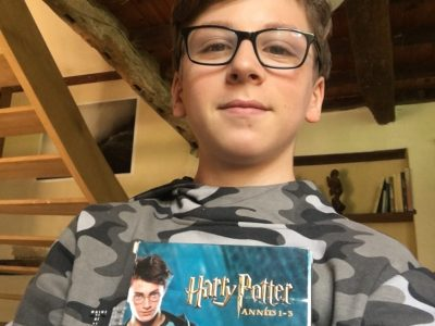 Garlin Collège Joseph-Peyré  Pour moi Harry Potter symbolise L'Angleterre.
