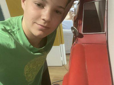 SAVENAY COLLEGE SAINT JOSEPH, petit selfie dans ma chambre thème  London