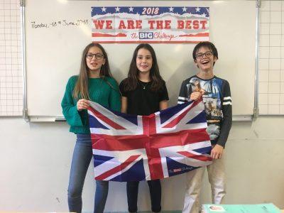 Voici les gagnants de la classe 51 du Collège St Joseph du Parchamp de Boulogne! Merci