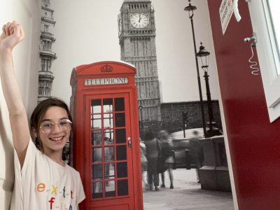 Collège Jasmin les iles à Agen I love London !