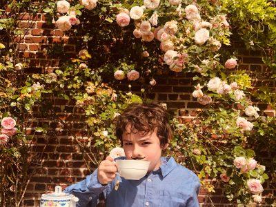 """PARIS - College Rocroy Saint Vincent de Paul - Marceau Cattet  6e4 """"Tea time in my rose garden"""""""