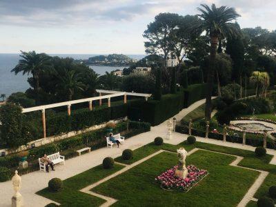 ''Garden's view''  Villafranche-sur-Mer Collège André Capron  Cannes Viktoria Sergeeva 6ème3